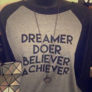 Dreamer doer raglan tee